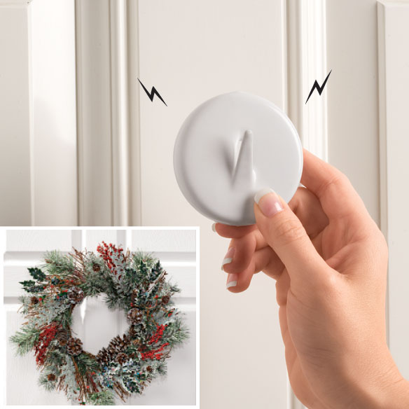 Magnetic Wreath Hanger - View 2