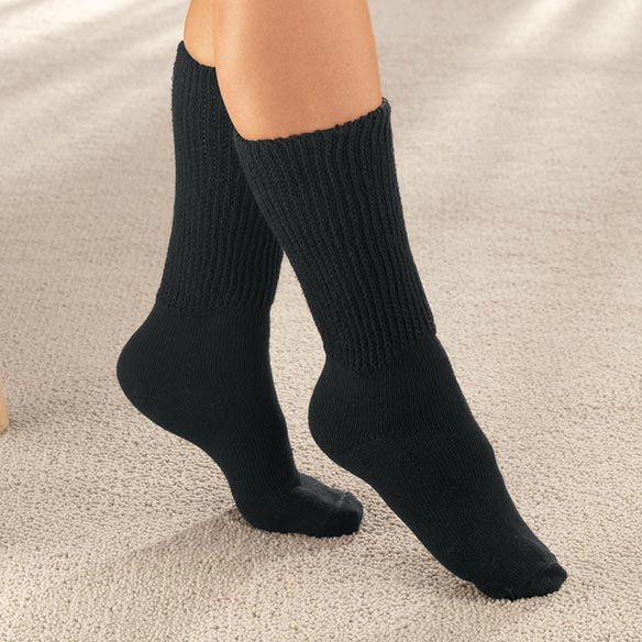 Diabetic Crew Socks - View 3