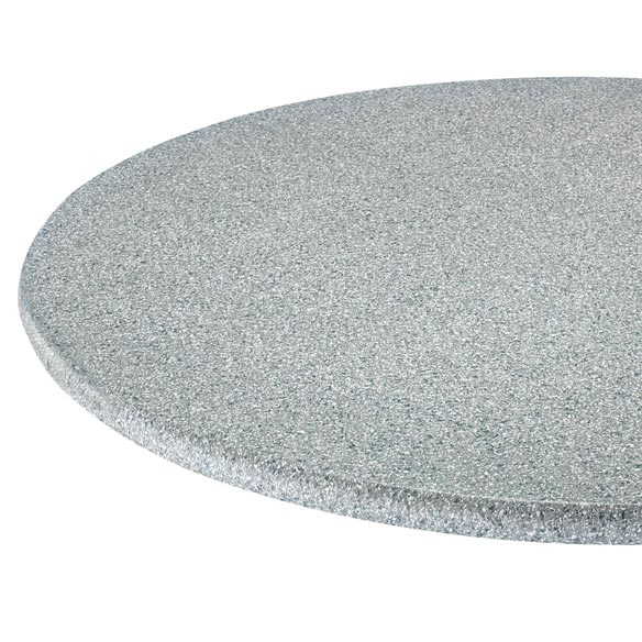 Polished Granite Vinyl Fitted Table Cover - View 2