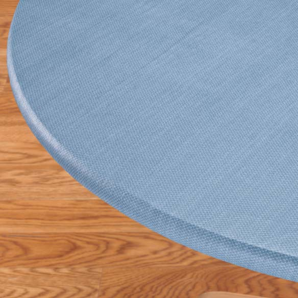 Classic Weave Elasticized Table Cover - View 4