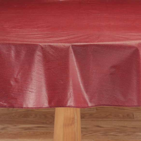 Classic Weave Vinyl Table Cover - View 4