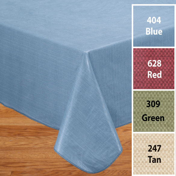 Classic Weave Vinyl Table Cover - View 5
