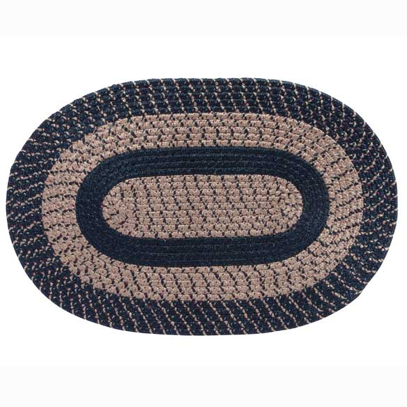 Oval Braided Rug - View 3