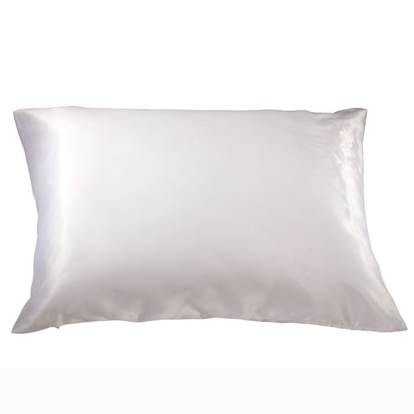 Satin Pillow Case - Satin Pillowcase With Zipper - Miles