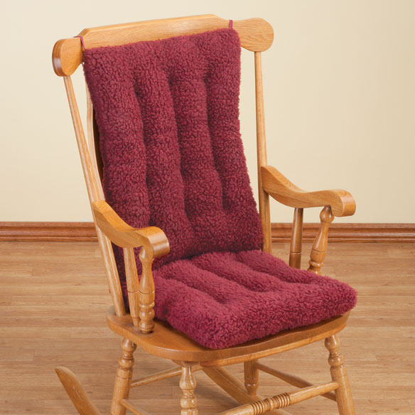 Sherpa Rocking Chair Cushion Set by OakRidge Comforts™ - View 3