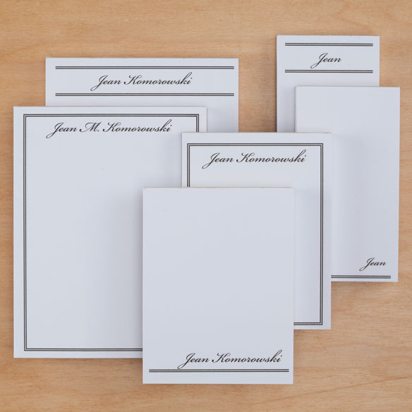 Personalized Classic Basketful of Notepads Refill - View 5