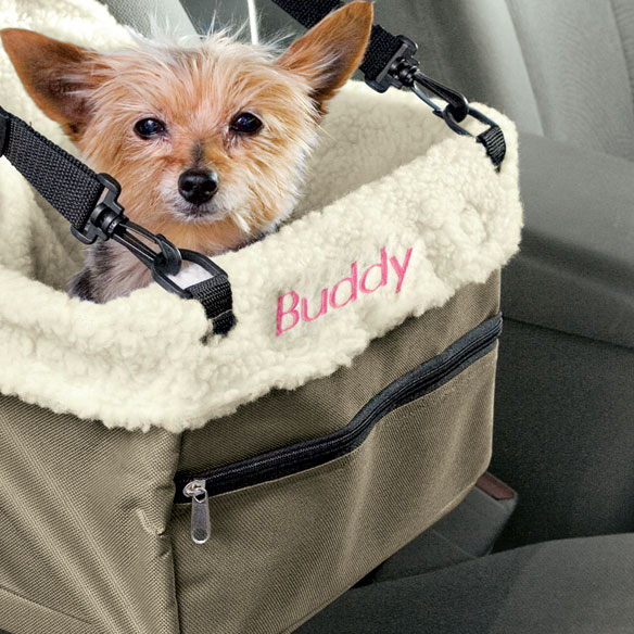 Personalized Pet Car Booster Seat - View 3