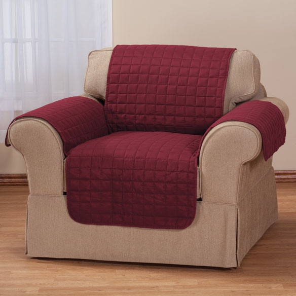 Microfiber Chair Protector by OakRidge Comforts™ - View 5