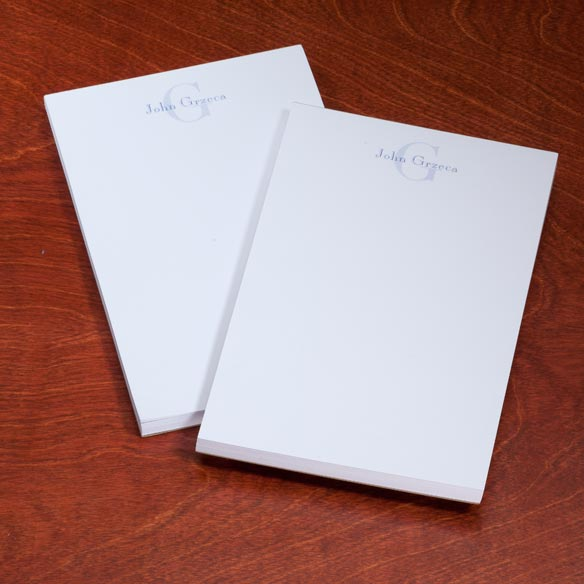 Personalized Block Notepads, Set of 2 - View 2