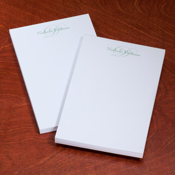 Personalized Script Notepads - Set Of 2 - View 3