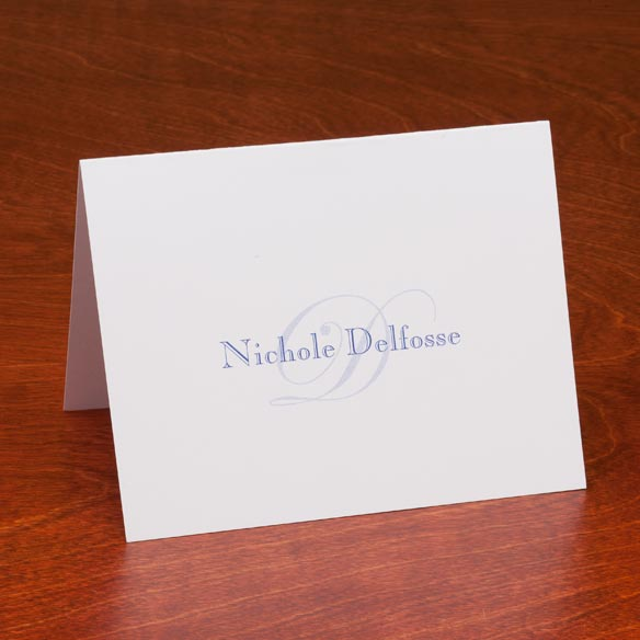 Personalized Script Note Cards - Set Of 25 - View 2