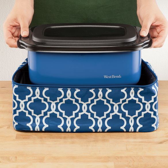 West Bend® Cook & Tote™ - Blue - View 2