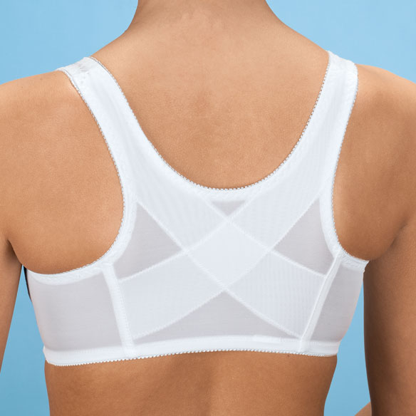 Soft Cup Cross Back Bra - View 2