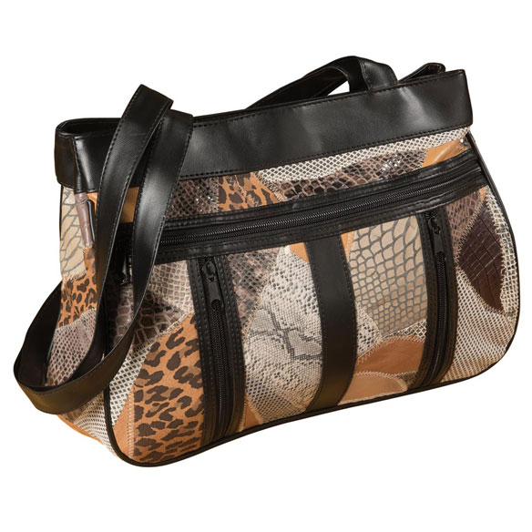 Safari Mix Leather Bag - View 3