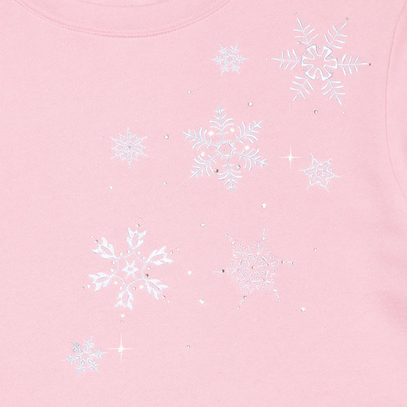 Swirling Snowflakes Tunic - View 3