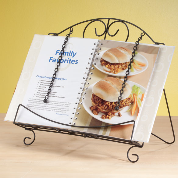 Scroll Cookbook Holder - View 2