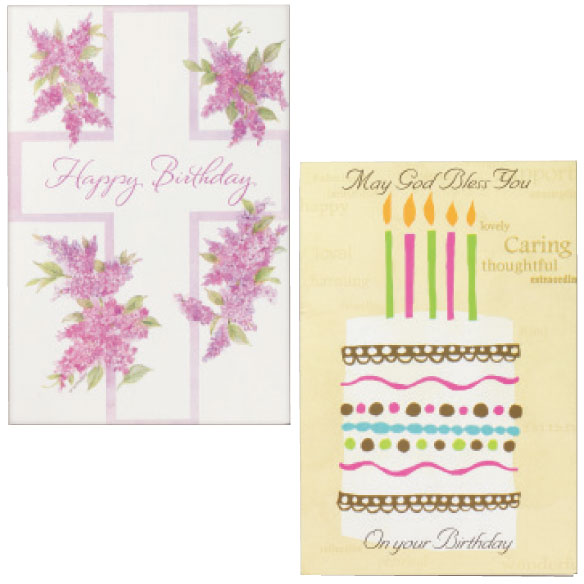 Birthday Card Set of 24 - View 2