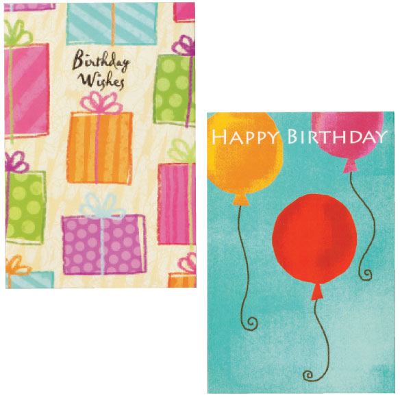 Birthday Card Set of 24 - View 5
