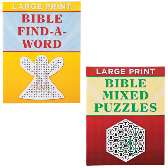 Large Print Bible Puzzle Book 8-Pack - View 3