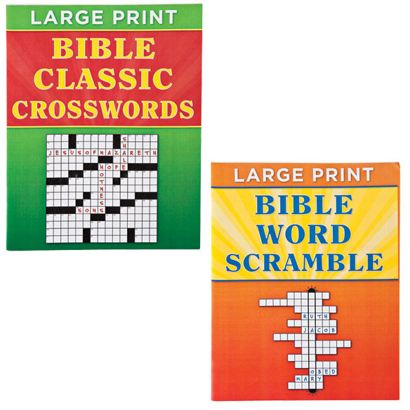 Large Print Bible Puzzle Book 8-Pack - View 4