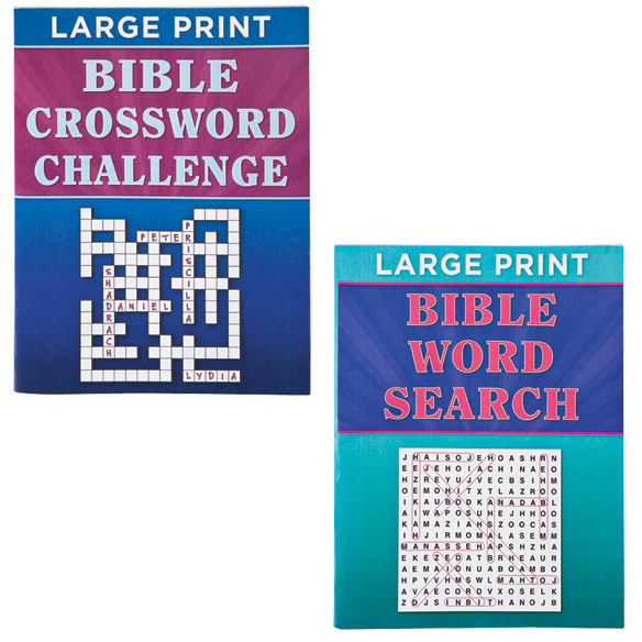 Large Print Bible Puzzle Book 8-Pack - View 5