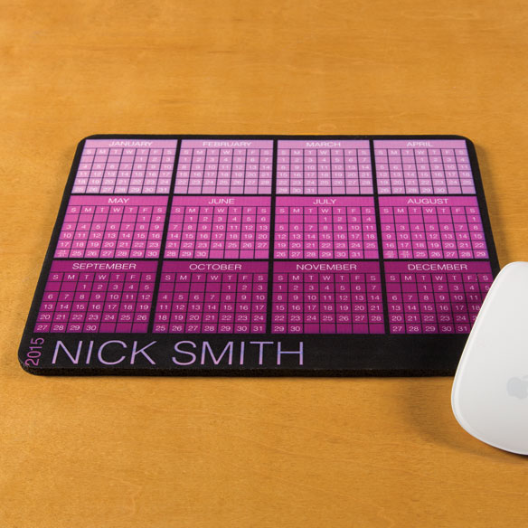 Personalized Classic Calendar Mousepad - View 3