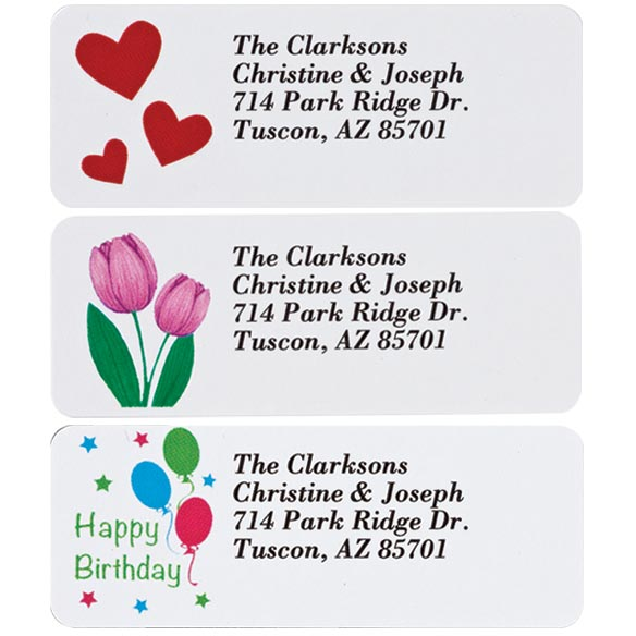 Address Labels Variety Pack set of 150 - View 2