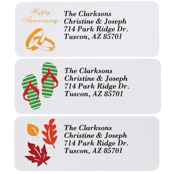 Address Labels Variety Pack set of 150 - View 3