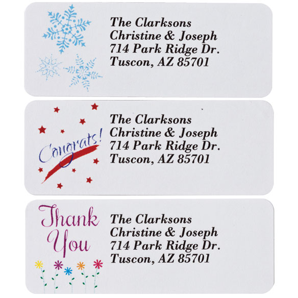 Address Labels Variety Pack set of 150 - View 4