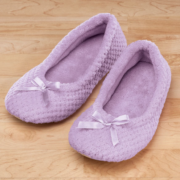 Chenille Ballet Slippers - View 2