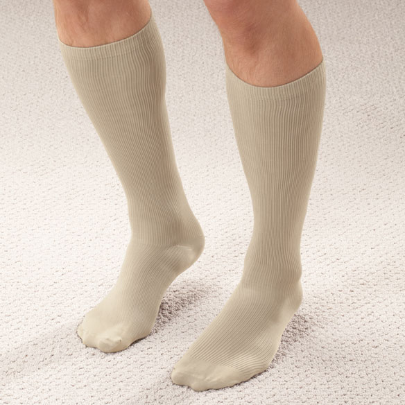 Men's Light Compression Trouser Socks - View 4