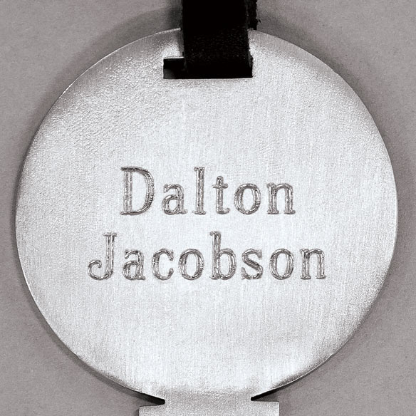 Personalized Golf Tee Bag Tag - View 3