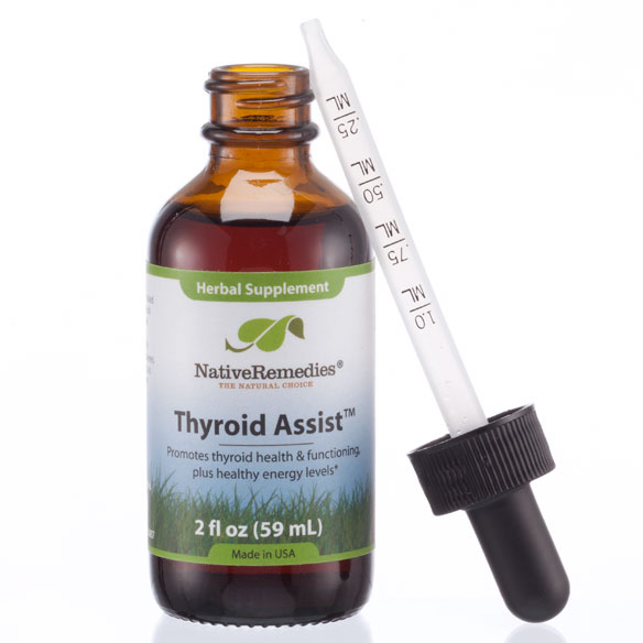 NativeRemedies® Thyroid Assist™ - 2 oz. - View 3