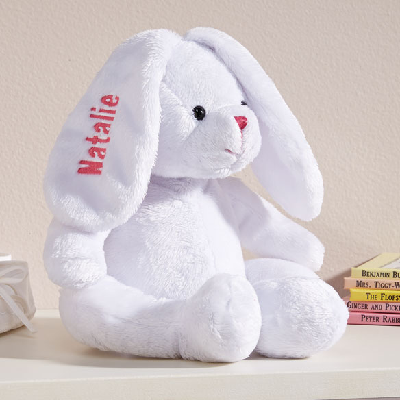 Personalized Plush Easter Bunny - View 2