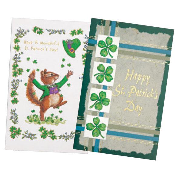 St. Patrick's Day Card Assortment, Set of 24 - View 3