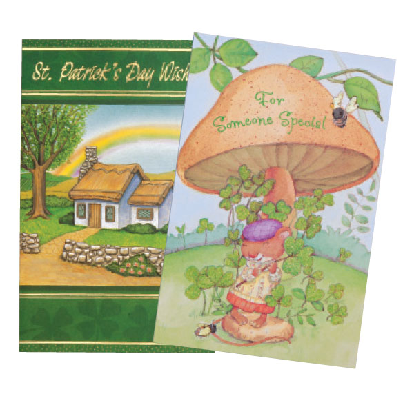 St. Patrick's Day Card Assortment, Set of 24 - View 5