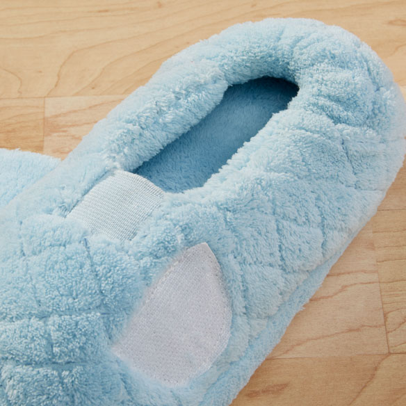 Chenille Stretch Slippers - View 2