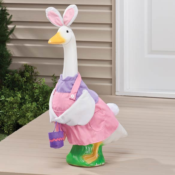 Easter Bunny Girl Goose Outfit - View 2
