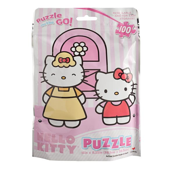 Hello Kitty® Foil Puzzle - 100 Pieces - View 2