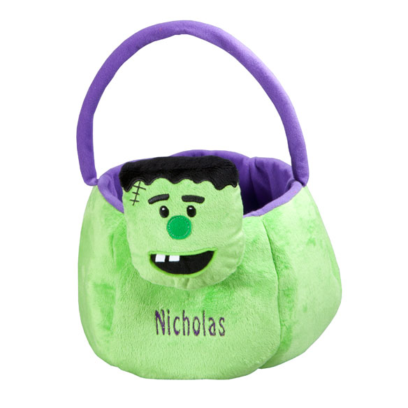 Personalized Frankenstein Trick-or-Treat Bag - View 2