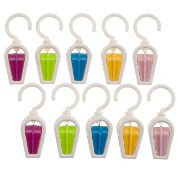 Hanging Clips, Set of 10 - View 2