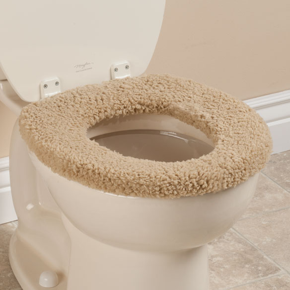 Sherpa Toilet Seat Cover by OakRidge Comforts™ - View 5