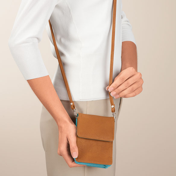 RFID Blocking On-the-Go Crossbody Bag - View 4