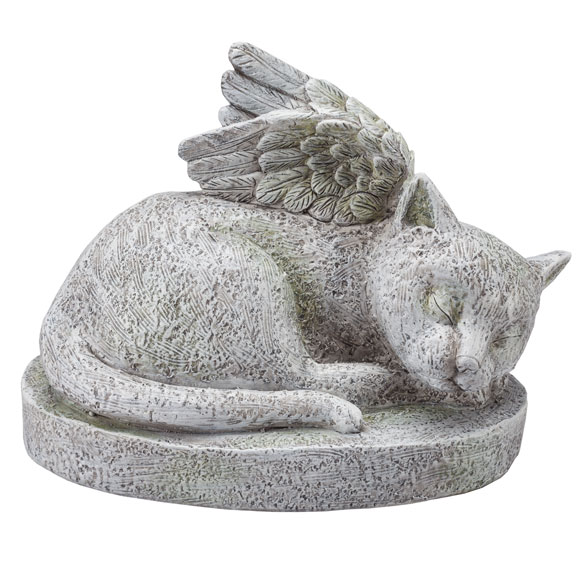Resin Cat Memorial - View 2