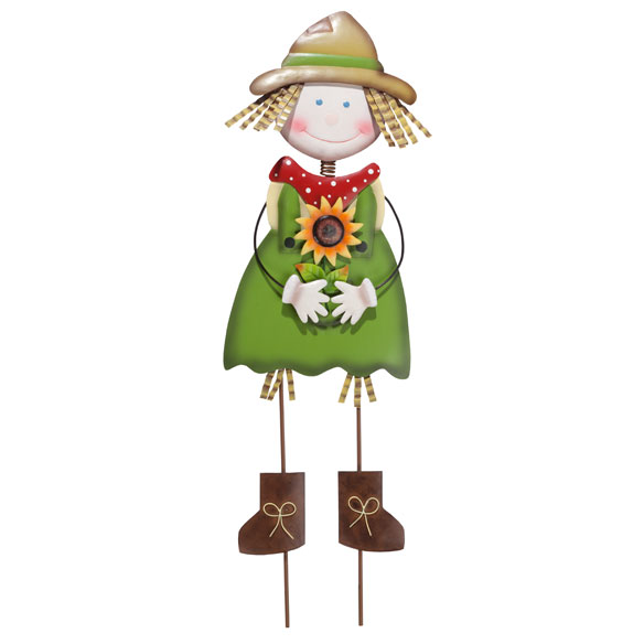 Scarecrow Girl Yard Stake by Maple Lane Creations™ - View 2