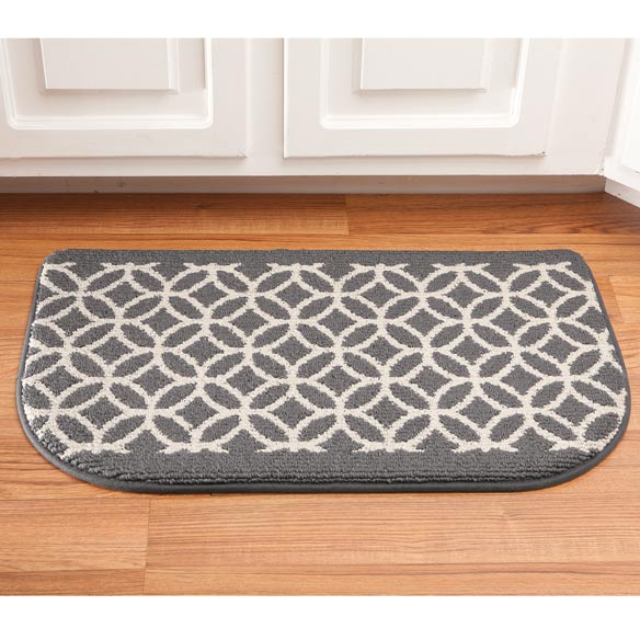 Memory Foam Wedding Ring Slice Rug - View 2