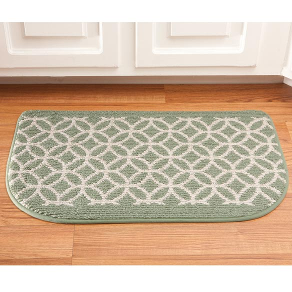 Memory Foam Wedding Ring Slice Rug - View 3