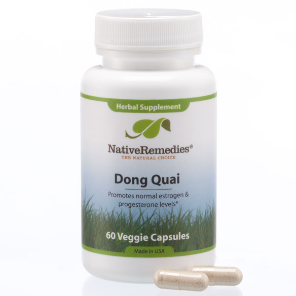 NativeRemedies® Dong Quai - 60 Veggie Capsules - View 3