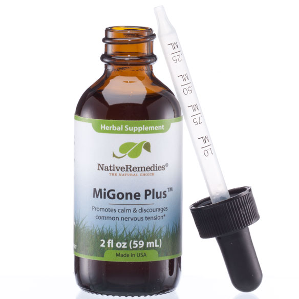 NativeRemedies® MiGone Plus™ - 2 oz. - View 3