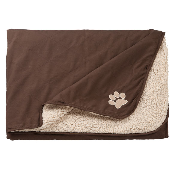 Reversible Pet Throw - View 2